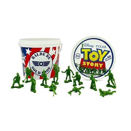 Balde de Soldados Toy Story Soldadinhos Filme Toy Story