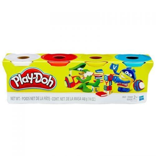 Massa Play Doh C/4 Potes