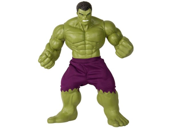 Boneco Hulk Vingadores 45cm Gigante Marvel Revolution Mimo