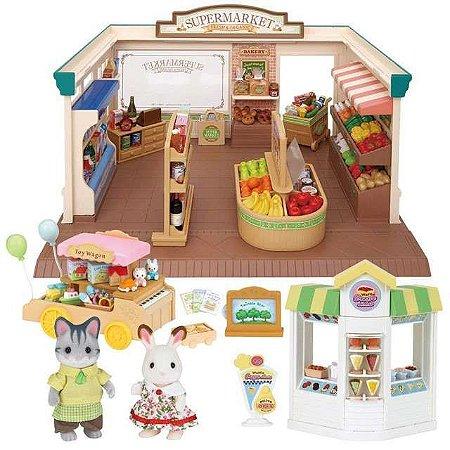 Sylvanian Families Conjunto Supermercado