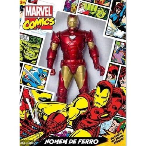 Boneco Homem de Ferro 50CM Marvel Vingadores