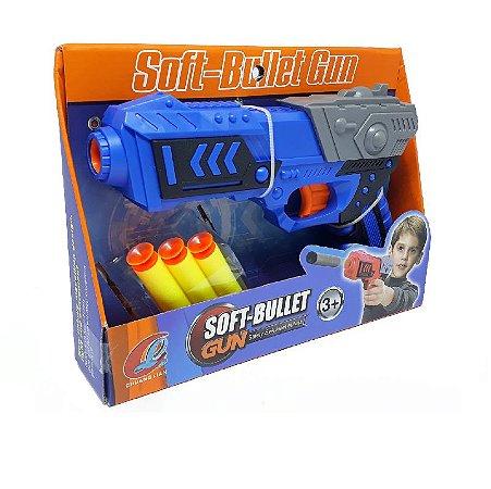 Lançador de Dardo tipo Nerf - Soft-Bullet GUn