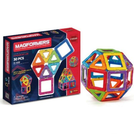 Blocos Magnéticos -  Magic Magnetic 30 set