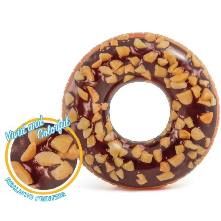 Boia Rosquinha de Chocolate Rosca Donut INTEX