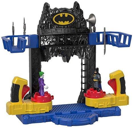 Brinquedo Batalha na batcaverna batman fisher-price Meninos
