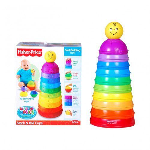 Torre de Potinhos Coloridos