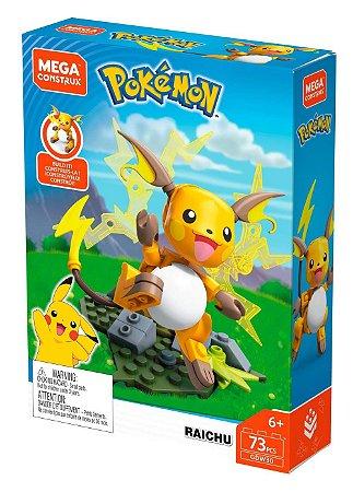 Mega Construx Pokemon Blocos Raichu Mattel
