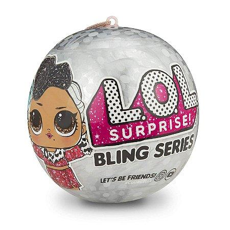 Lol Bling Lol Surprise com 07 Surpresas Original Candide