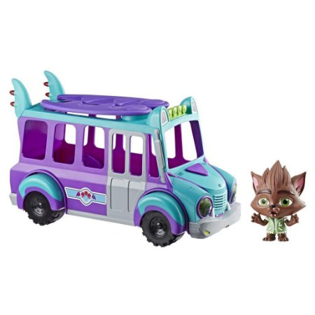 Ônibus Monstrinhos Lobo Howler Super Monsters Hasbro Playskool