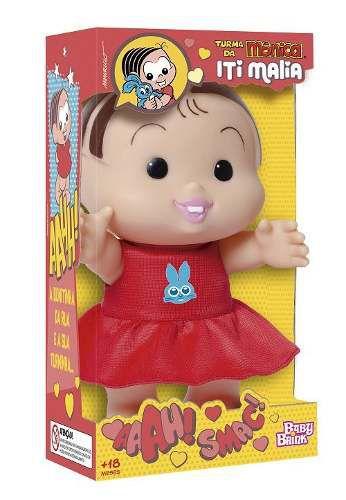Boneca Mônica Turma da Mônica Iti Malia Baby Brink