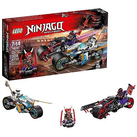 Ninjago A Corrida Motos de Rua De Serpente Jagua LEGO 70639