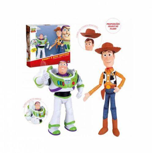 Boneco Toy Story Woody e Buzz