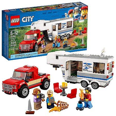 Lego City - Pickup e Caravan Trailer - 60182