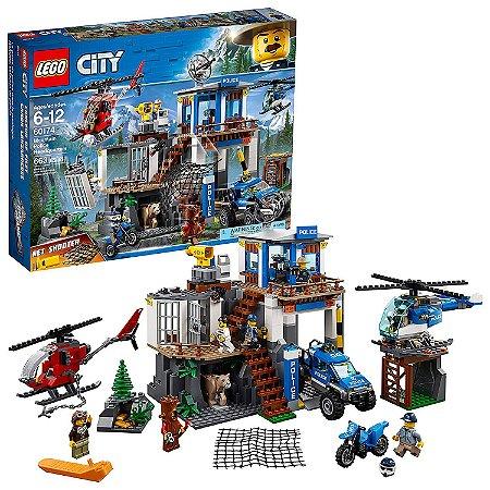 Lego City Quartel General Da Policia Na Montanha - 60174