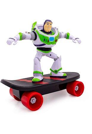 Buzz Lightyear com Skate Toy Story 4 Toyng  Patruleiro