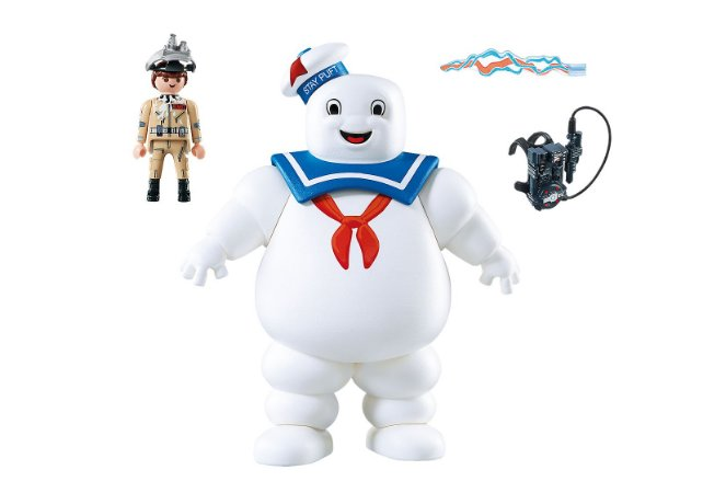 Playmobil Homem de Marshmallow Stay Puft Sunny Ghostbusters