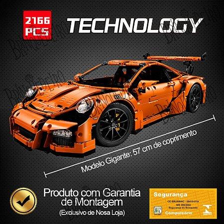 Porsche 911 Technic 2766 Blocos de Montar compatível Lego