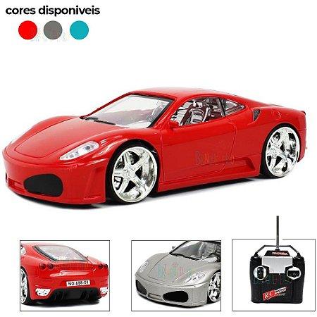 Carro de Controle Remoto Ferrari F1 1/24 Drift Luzes