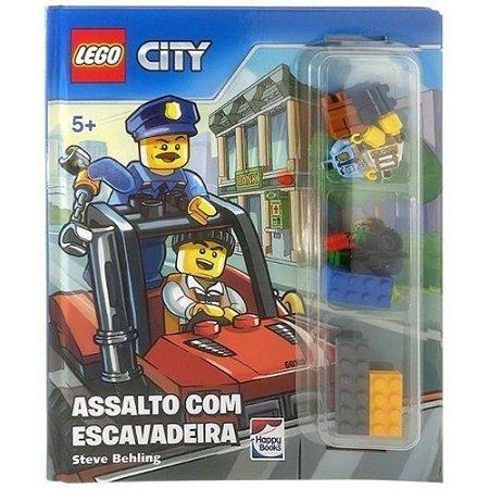 Lego City Livro com Histórias e Peças Lego para Montar