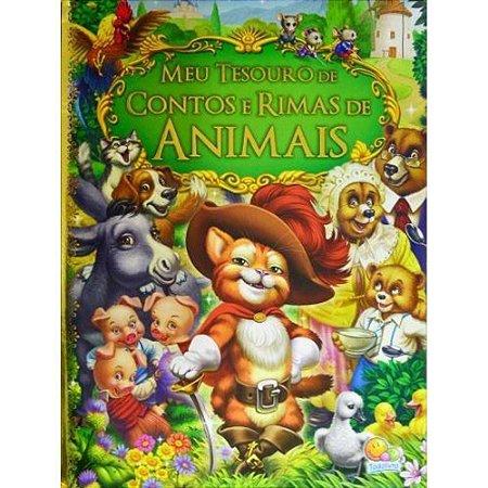 Livro Coleção Meu Tesouro De Contos E Rimas De Animais