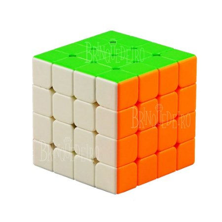Cubo Mágico 4x4 Semiprofissional Clássico Stickerless