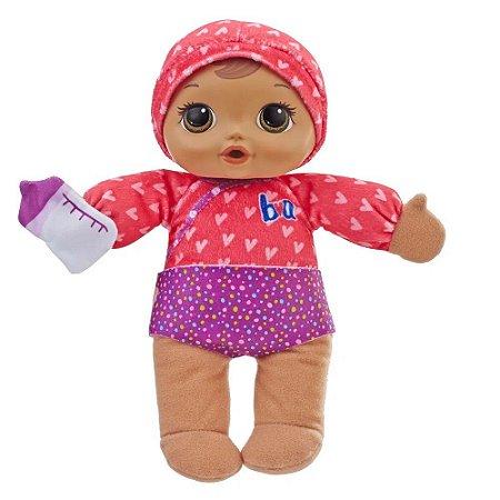 Boneca Baby Alive Dorme Bebê Morena