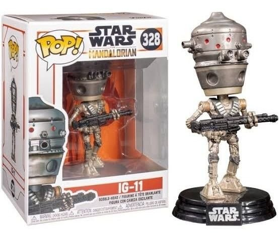 Pop Star Wars The Mandalorian Ig-11 (328)