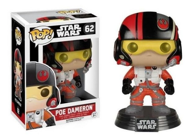 Pop Funko Star Wars Poe Dameron (62)