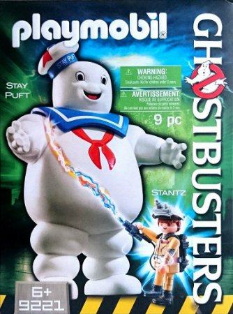 Playmobil Ghostbusters Homem Marshmallow Puft & Stantz 9221