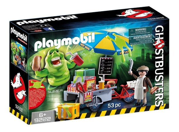 Playmobil Ghostbusters Slimer 9222 - Caça Fantasmas Monstro