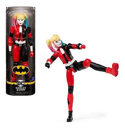 Boneca Articulada Liga da Justiça DC Comics Arlequina Sunny