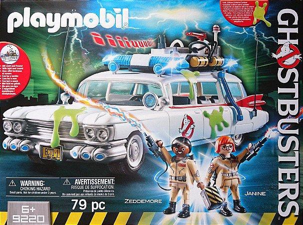 Playmobil Ghostbusters Zeddemore & Janine 9220