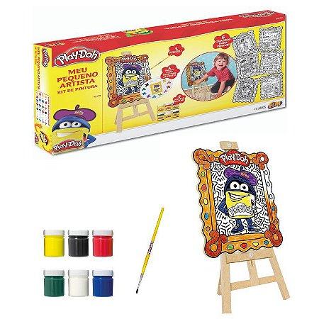 Fun Play-Doh Meu Pequeno Artista Kit de Pintura
