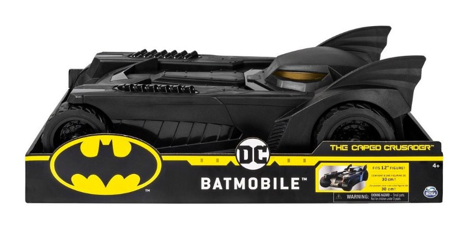 Sunny Dc Veículo Batmobile The Caped Crusader