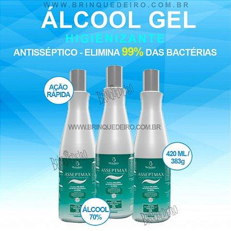 Alcool em Gel 70% para as Mãos Antisséptico Asseptmax