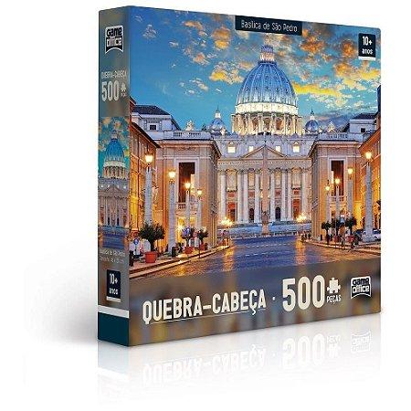 Quebra-cabeça Game Office Basílica de São Pedro 500 Peças