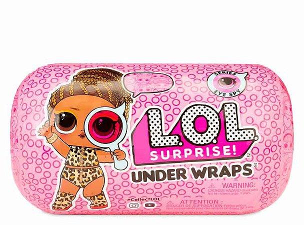 Boneca LOL Surprise Serie Under Wraps Eye Spy