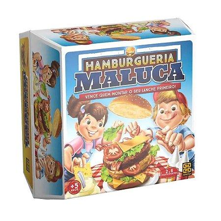 Jogo Hamburgueria Maluca Jogo de Fazer Hamburguer - Grow
