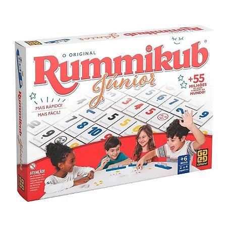 Jogo de Tabuleiro O Original Rummikub Júnior - Grow