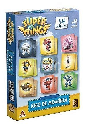 Jogo De Memória Super Wings Grow