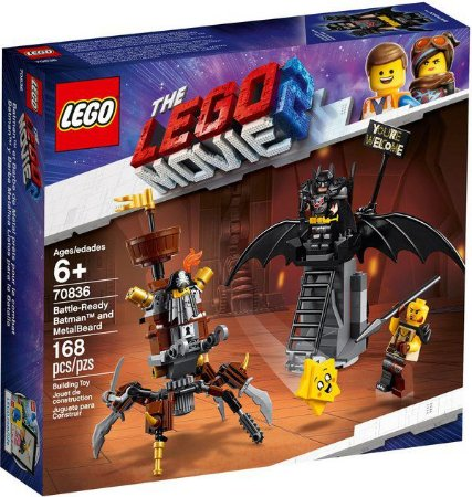 Lego The Lego Movie 2 Batman and MetalBeard 70836