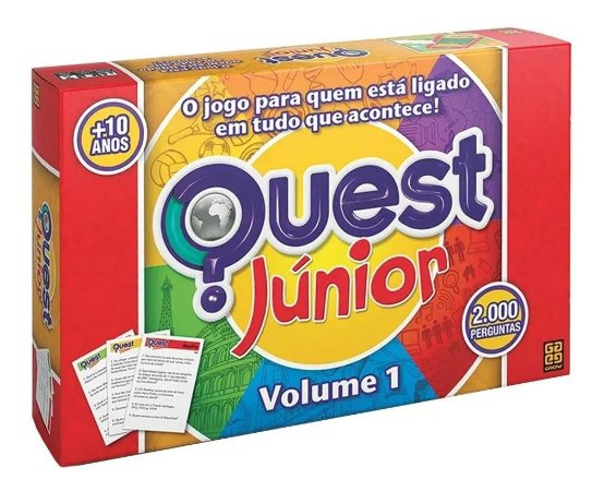 Jogo Quest Júnior Original Grow