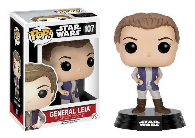 Pop Funko Star Wars General Leia (107)