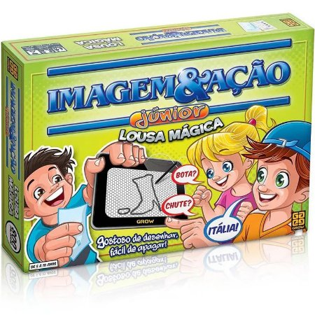Jogo Imagem e Ação Júnior Lousa Mágica Grow