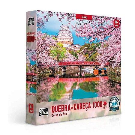 Quebra-Cabeça Cores da Ásia Japão 1000 Peças - Game Office