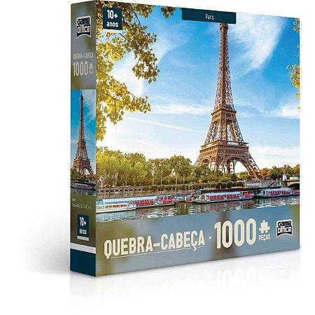 Quebra-Cabeça Paris 1000 Peças - Game Office
