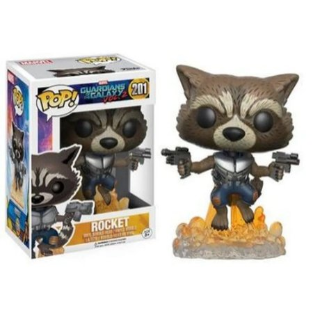 Guardiões da Galáxia 2 Rocket - Funko Pop (201)