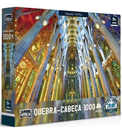 Quebra-Cabeça Sagrada Família 1000 Peças - Game Office
