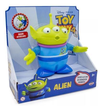Boneco Alien 15cm Articulado Toy Story Disney