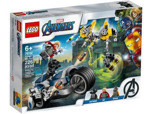 Lego Super Heroes Marvel Ataque dos Vingadores Speeder Bike